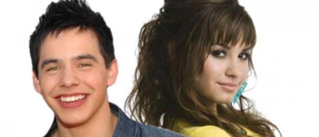 Demi Lovato and David Archuleta