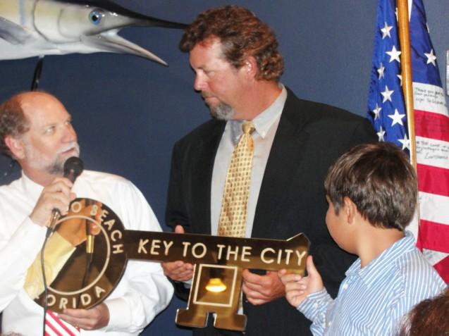 And The Winner Is…Joel Brandenburg New Apollo Beach Honorary Mayor
