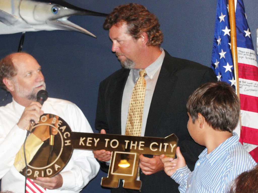 And The Winner Is…Joel Brandenburg New Apollo Beach Honorary Mayor