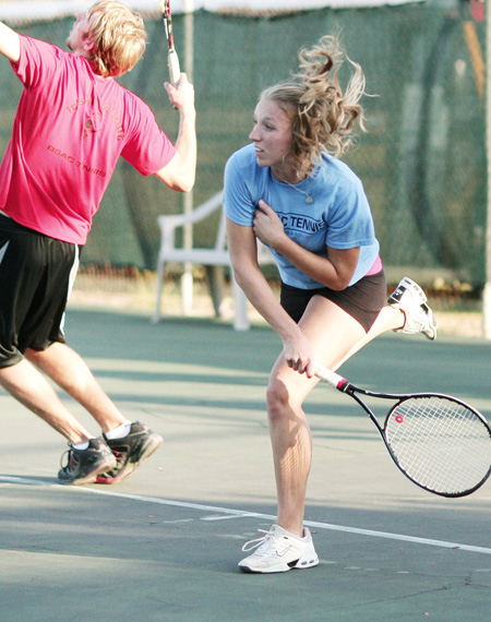 Durant Graduate Takes Tennis Skills to Ohio State University
