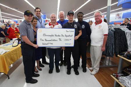 Walmart Celebrates Revamp With  $10,000 In Donations