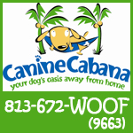 Canine Cabana shop local logo