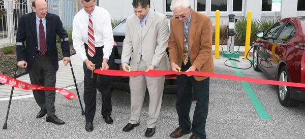 Hillsborough County Celebrates Its First Electric Car Charging Station
