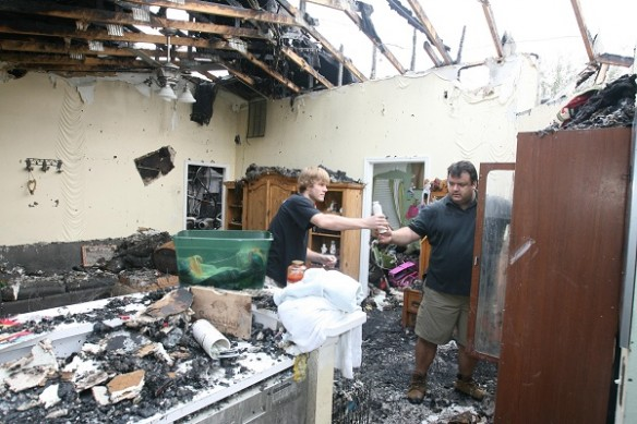 Family Safe as Fire Destroys Lithia Home