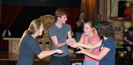 Area's New Community Theatre Group Gets Ready For First Performance