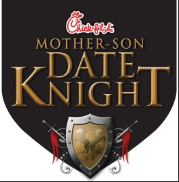 "Tampa Bay Area Chick-fil-A Restaurants  Host Mother-Son ""Date Knight"" Feb. 4"