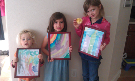 Sisters Sell Paintings For A Kid's Place