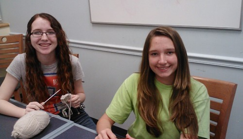 Knitting Matters At The Bloomingdale Regional Library