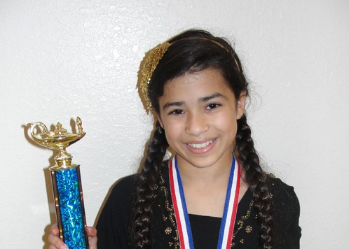 First-Year Phenom: Barrington Student Shines At Science Fair