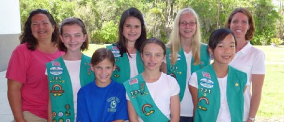 Local Girl Scout Troop's Project To Benefit A Kid's Place