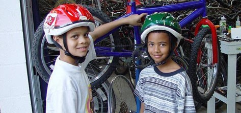 Ministry Grants Pedal Power