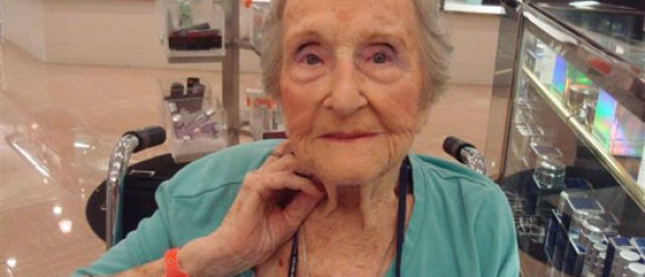 Hawthorne Village Resident Awarded Outstanding Centenarian Award