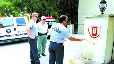 HCSO's Intelligence-Led Policing Works To Eradicate Graffiti