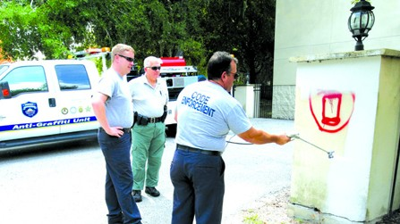 HCSO's Intelligence-Led Policing Works To Eradicate Graffiti