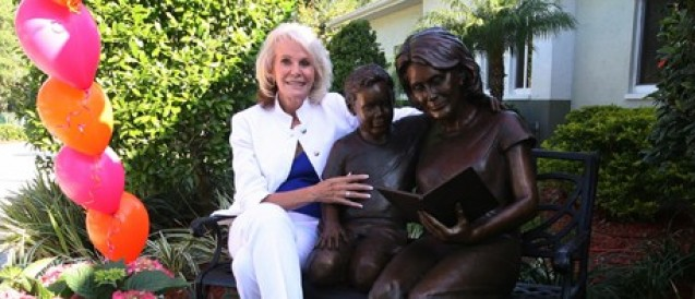 Life-Size Sculpture Honors Local Champion Of Children