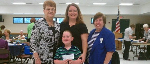 Newcomers Club Helps Local Child With Funds For Seizure Sensing Therapeutic Dog