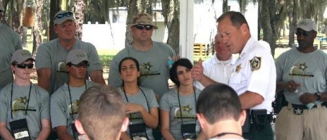 Sheriff Rewards Local Students Through Week-Long Leadership Course