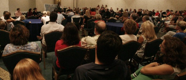 Residents Rally Against TECO Power Lines During Town Hall Meeting