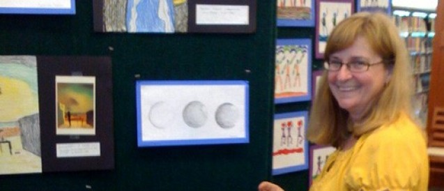 Young Students Have Artwork Displayed In Gallery Setting At SouthShore Regional Library