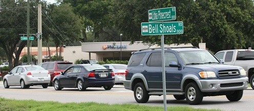Construction Of Lithia Pinecrest, Lumsden, Bell Shoals And Durant Intersections Delayed Until End Of Year