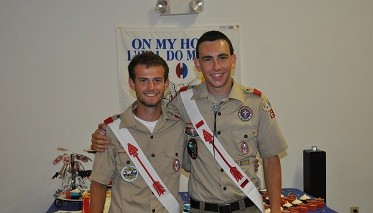 Boy Scout Troop 665 Honors Two Eagle Scouts
