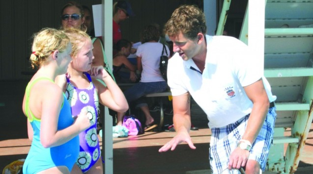 Olympian Hosts Diving Clinic To Kick Off New Team