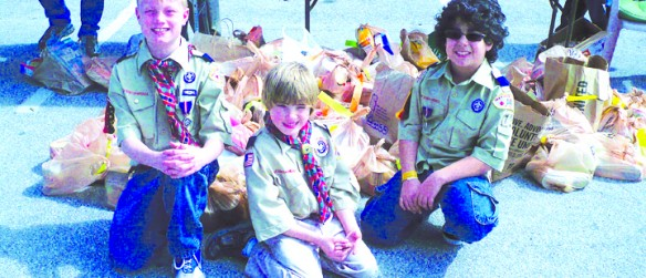 The Annual Scouting For Food Drive Helps Area Residents In Need