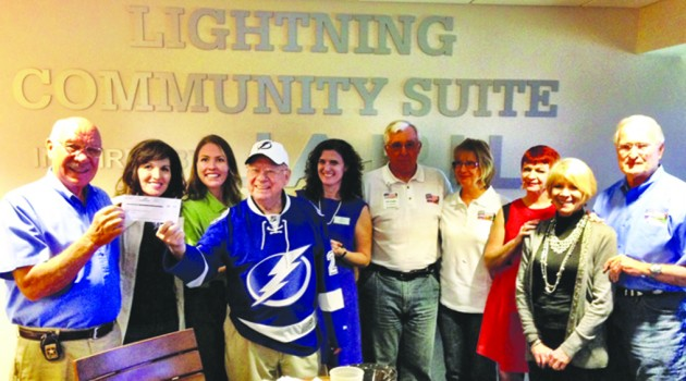 WWII Vet Leonard Black Honored As Community Hero By Lightning Foundation