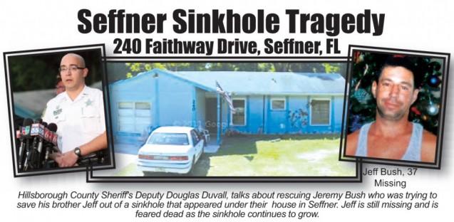 Search for Sinkhole Victim Over, House Demolition Begins