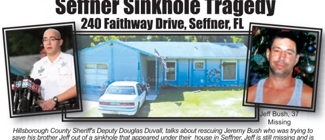 Search for Sinkhole Victim Over, House Demolition Begins