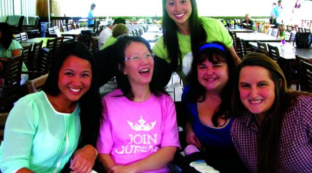 Library Survivor Comes Forward To Encourage You To 'JoinQueena.com'