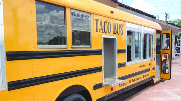 Taco Bus Pulls Into Brandon Area
