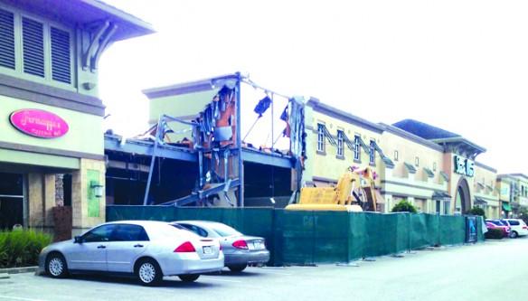 Demolition Begins In Stein Mart Plaza