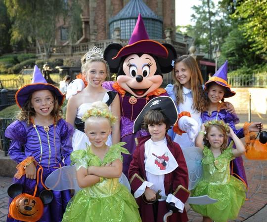 Mickey's Not-So-Scary Halloween Party at Magic Kingdom September 10-November 1