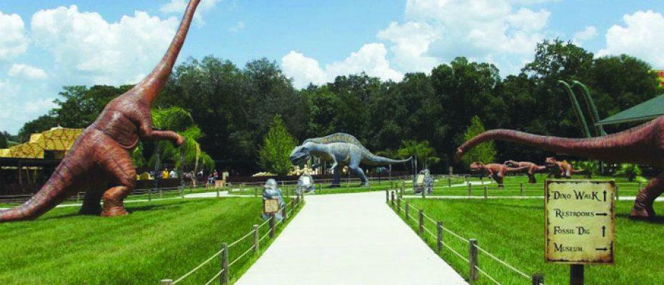 Dinosaur World walk