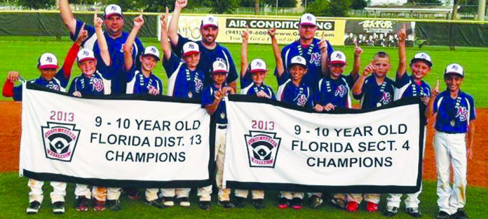 Sports_NBLL Florida District 13 and section 4 Champions
