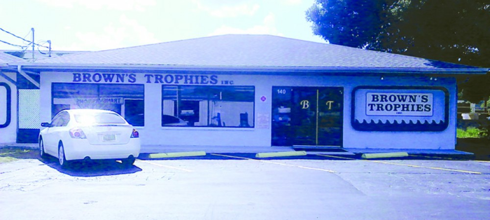 BROWNS TROPHIES BUILDING