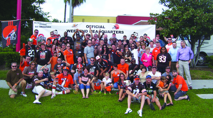 The Brandon Browns Backers Mix Love Of Sport With Charitable Giving