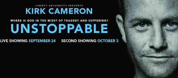 Overwhelming Demand For Kirk Cameron's UNSTOPPABLE Creates Second Showing on October 3