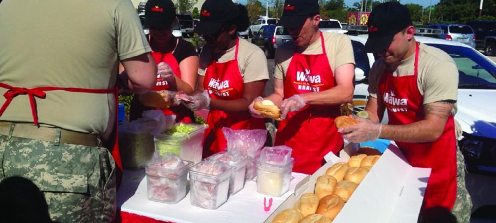 Wawa Celebrates Grand Opening In Riverview