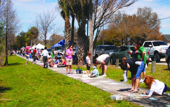 Bring The Family To The 7th Annual Chalkwalk & The 3rd Annual Indoor Outdoor Art Fest