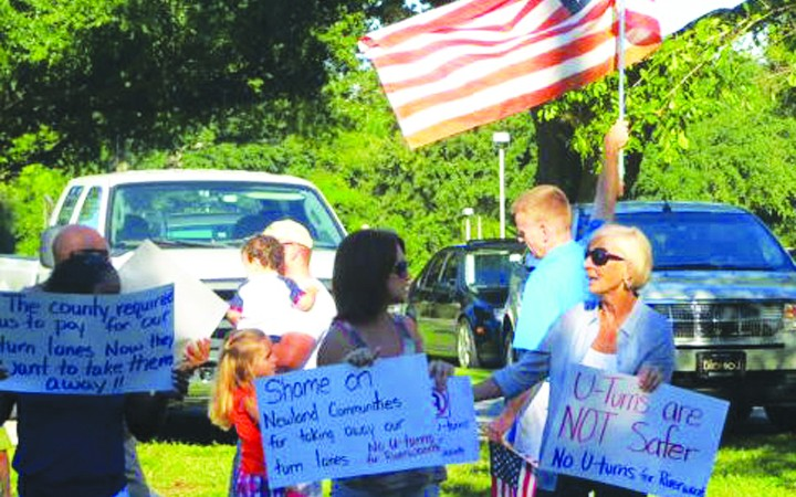 Residents Rally Over Upcoming Bell Shoals Road Widening Plan Issues