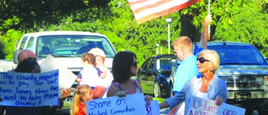 Bell Shoals Protest