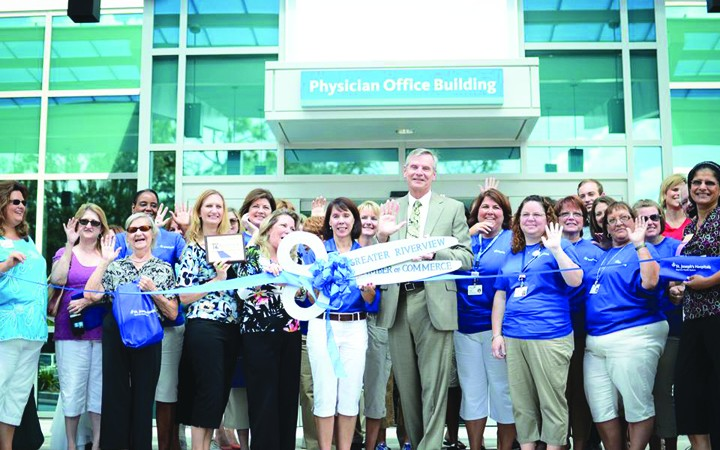 Bay Care Celebrates St. Joseph's-South Physician Office Building Opening