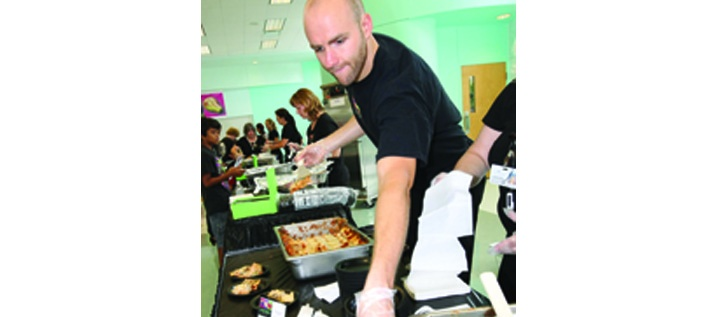 District Chef Leads Healthy Demonstrations During National School Lunch Week