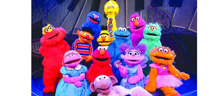 Family Fun At Sesame Street Live's Can't Stop Singing