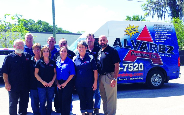 Alvarez Plumbing In Business For Generations