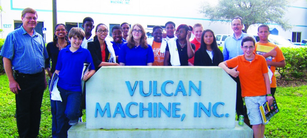 FLATEMclane Middle School at Vulcan Machines in Tampa