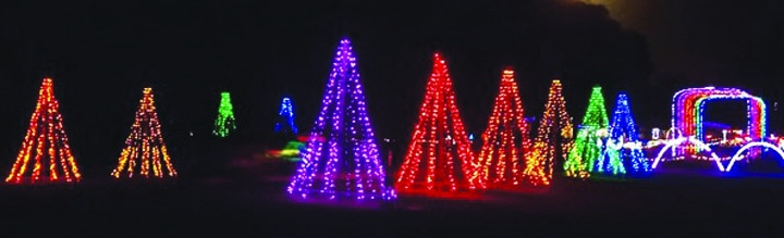 Visit Where the Holiday Spirit Shines Brightest: Light Shows