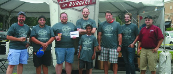 Burger Eating Contest Was Main Event At Jake's Wayback Burgers Grand Opening